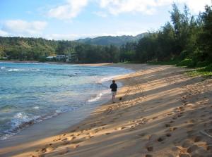 Moloaa Beach, Kauai
